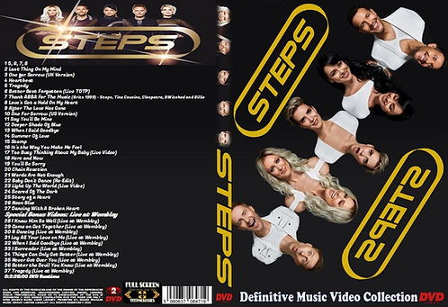 Steps Music Video DVD – Definitive Collection