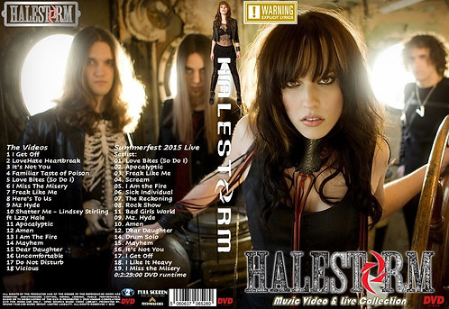 Halestorm Music Video Collection DVD