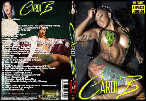 Cardi B Music Video Collection DVD