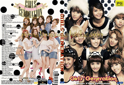 Girls' Generation Music Video Collection DVD