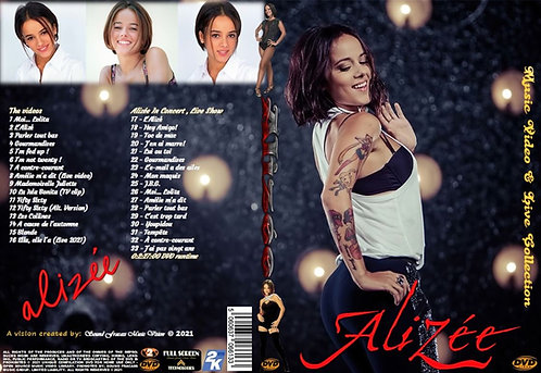 Alizée Music Video & Live Collection DVD
