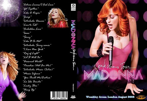 Madonna Confessions Tour DVD Live In London