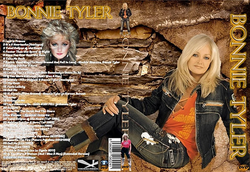 Bonnie Tyler Music Video DVD