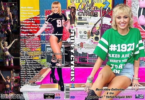 Miley Cyrus2 Music Video DVD & Super Bowl 2021