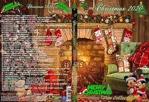 Christmas 2020 Music Video Collection DVD
