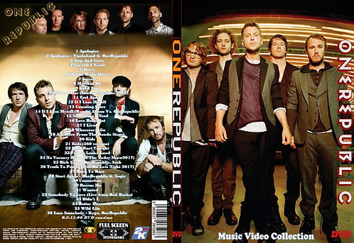 OneRepublic Music Video Collection DVD