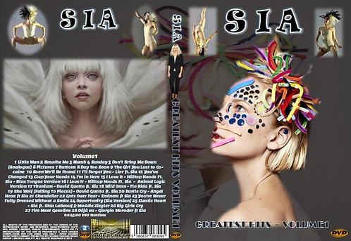 Sia Music Video DVD Volume1