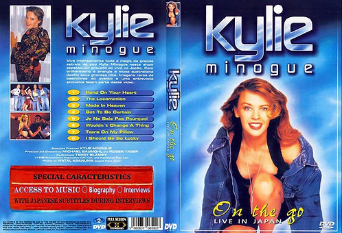 Kylie Minogue On The Go Tour DVD