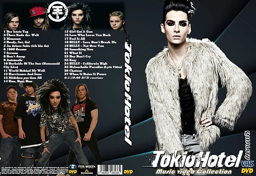 Tokio Hotel Music Video Collection DVD