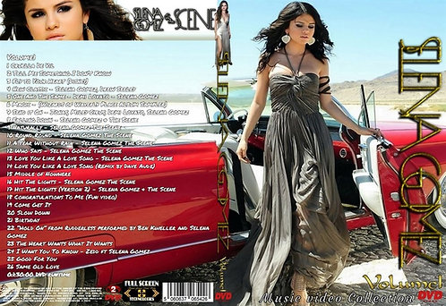 Selena Gomez Music Video Collection DVD Volume1