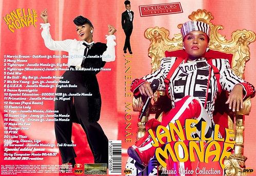 Janelle Monae Music Video DVD