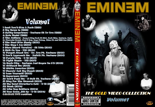 Eminem Music Video DVD Gold Edition Volume1