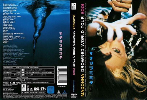 Madonna Drowned World Tour DVD