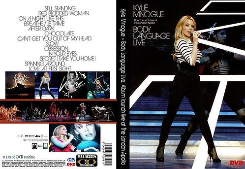 Kylie Minogue Body Language Tour DVD