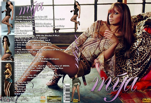 Mya Music Video DVD