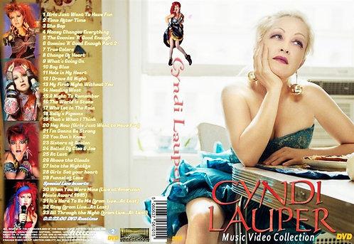 Cyndi Lauper Music Video DVD