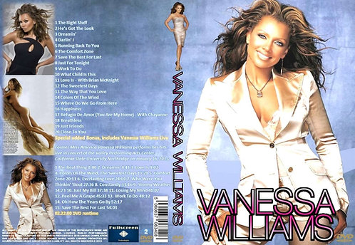 Vanessa Williams Music Video DVD