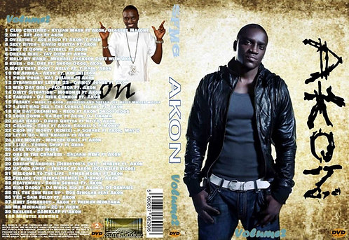 Akon Music Video DVD Volume2 Exclusive Edition