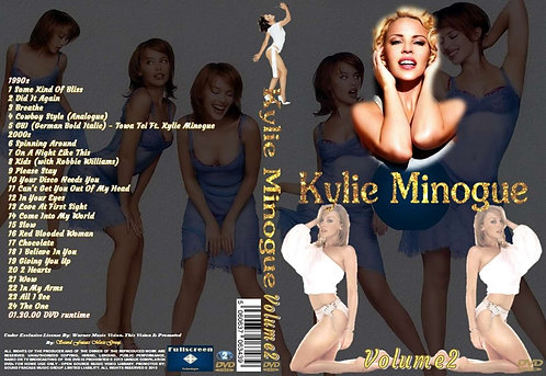 Kylie Minogue Music Video DVD – Volume2