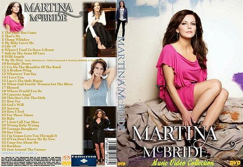 Martina McBride Music Video DVD