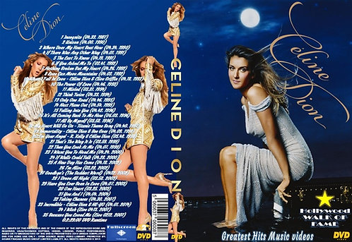 Celine Dion Music Video DVD