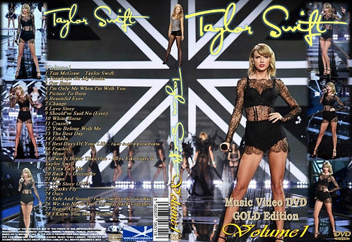 Taylor Swift Music Video DVD Volume1