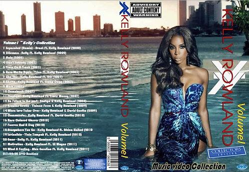 Kelly Rowland Music Video DVD Volume1