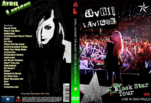 Avril Lavigne - The Black Star Tour Brazil 2011