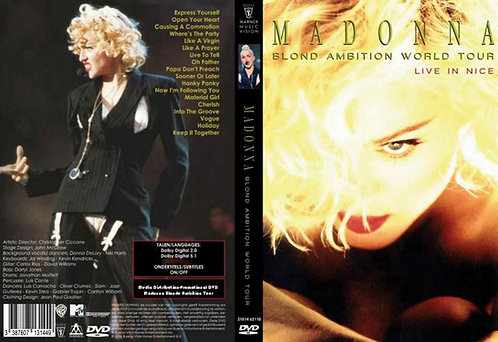 Madonna Blond Ambition World Tour Live DVD