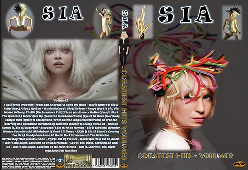 Sia Music Video DVD Volume2