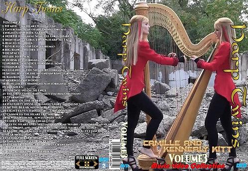 Harp Twins Music Video DVD Volume3