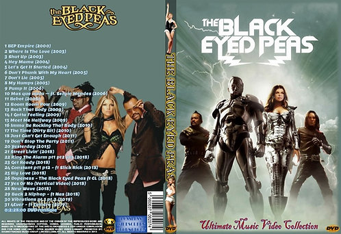 The Black Eyed Peas Music Video DVD