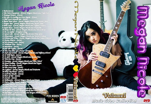 Megan Nicole Music Video DVD Volume1