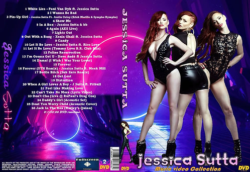 Jessica Sutta Music Video Collection DVD