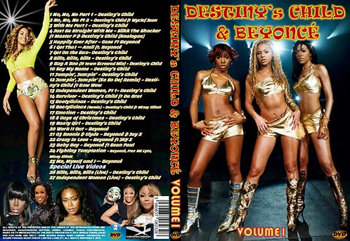 Beyonce & Destiny's Child Music Video DVD V1