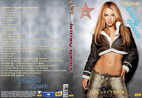 Britney Spears Music Video DVD – Volume2 Remastered Edition