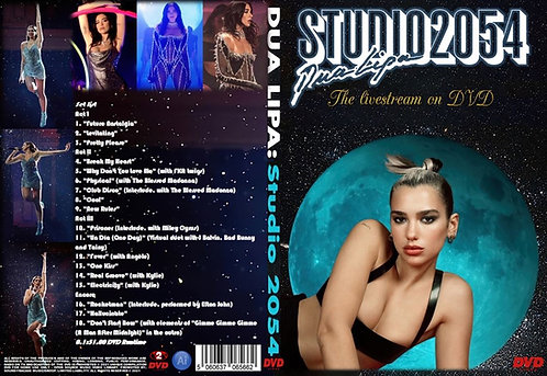 Dua Lipa Studio 2054 Live Performance DVD