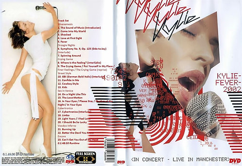 Kylie Minogue KylieFever 2002 Tour DVD