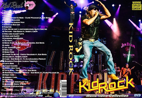 Kid Rock Music Video Collection DVD