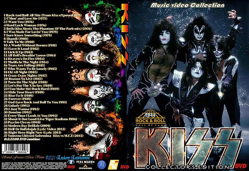 Kiss Music Video Collector's Edition DVD