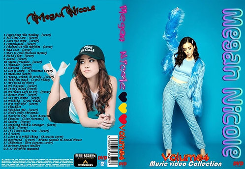 Megan Nicole Music Video DVD Volume4