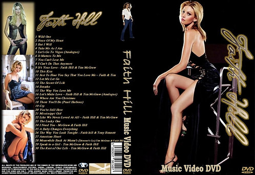 Faith Hill Music Video DVD