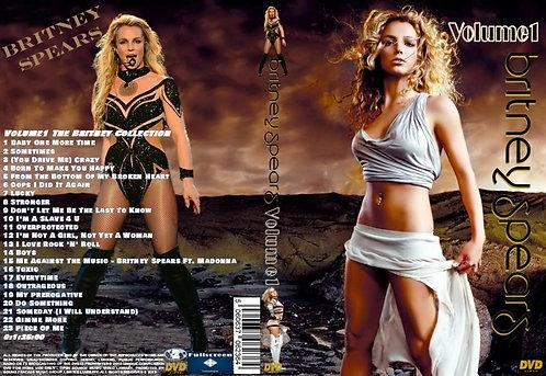 Britney Spears Music Video DVD – Volume1