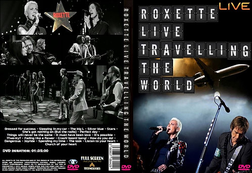 Roxette Live Travelling The World Tour 2013 DVD