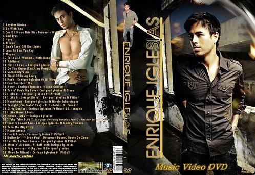 Enrique Iglesias Music Video DVD