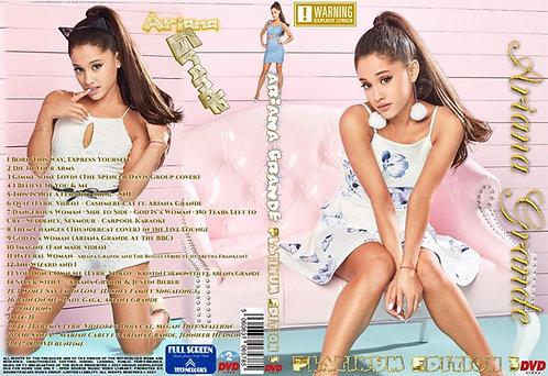 Ariana Grande Music Video Platinum Edition3 DVD