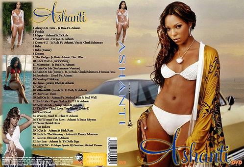 Ashanti Music Video DVD