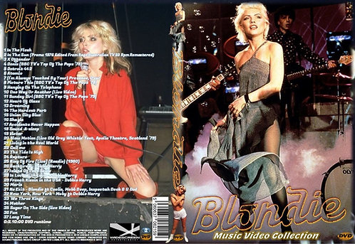 Blondie Music Video DVD