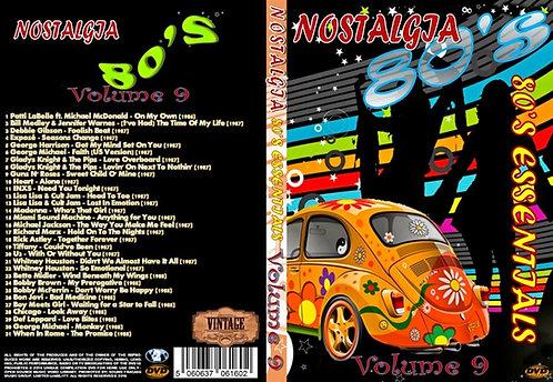 Nostalgia V9 80s Essentials Music Video DVD