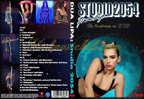 Dua Lipa Studio 2054 Live Performance DVD